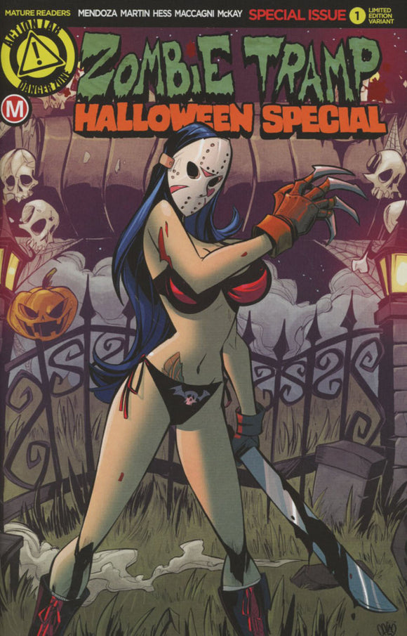Zombie Tramp Halloween Special #1 Marcelo Trom variant NM