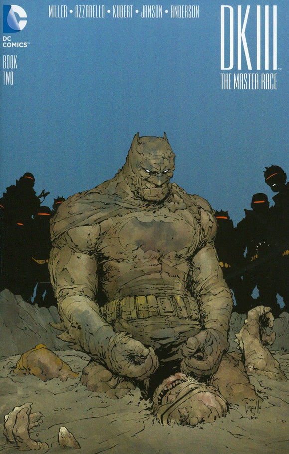 Dark Knight Iii Master Race Batman #2 Greg Capullo Midtown Variant Vf+/nm+ Comic