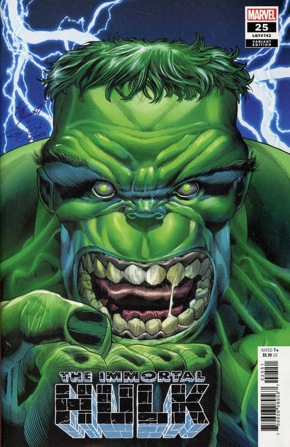 Immortal Hulk #25 C Joe Bennett Variant VF+/NM+