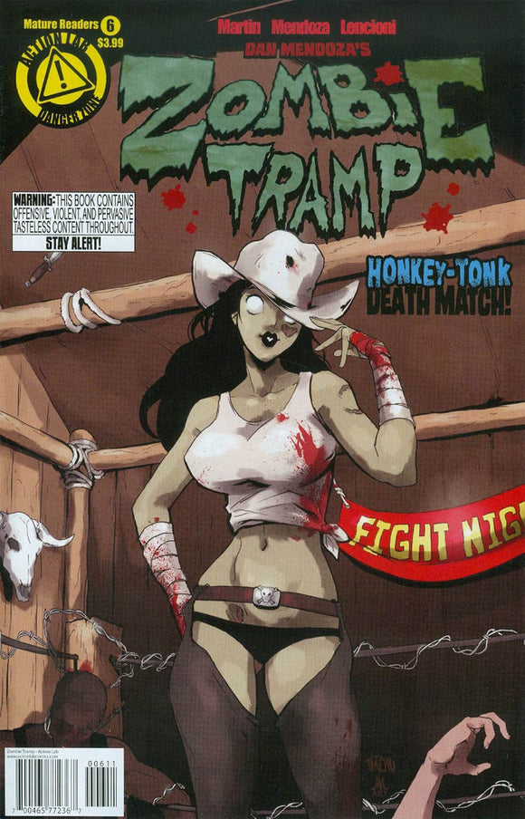 Zombie Tramp #6 TMChu VF+/NM+