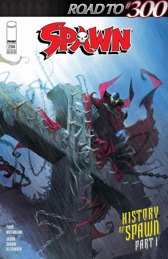 Spawn #296 A Francesco Mattina Vf+/nm+ 1St Print Comic