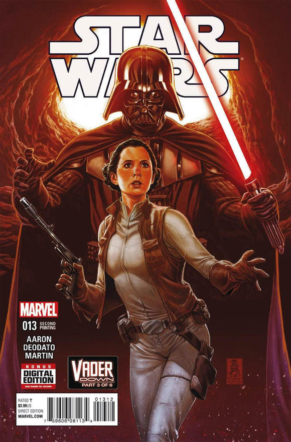 Star Wars #13 D Mark Brooks Variant VF+/NM+ 2nd Ptg