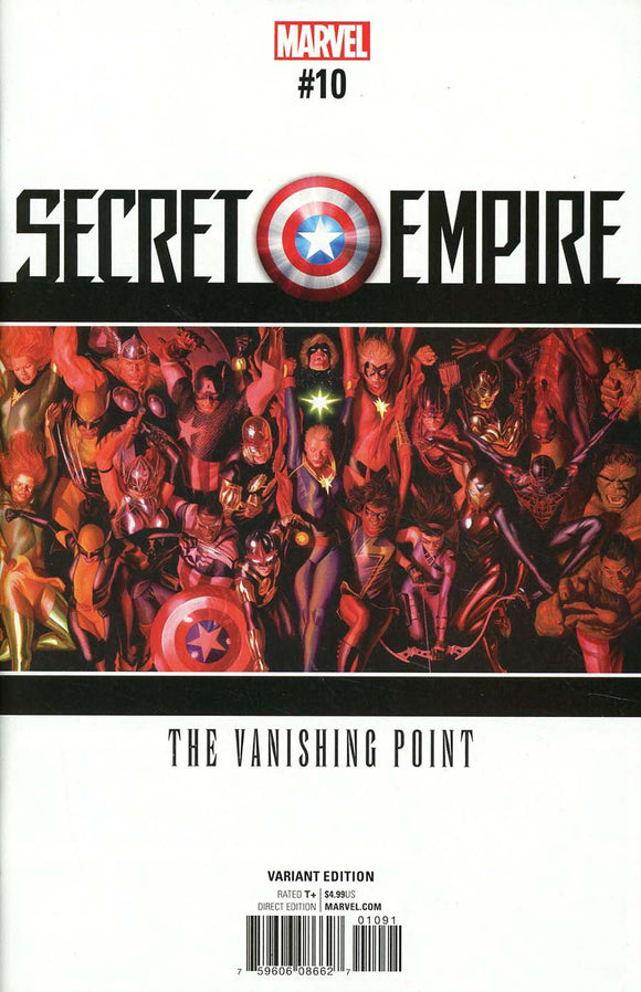 SECRET EMPIRE #10 Alex Ross Variant VF+/NM+