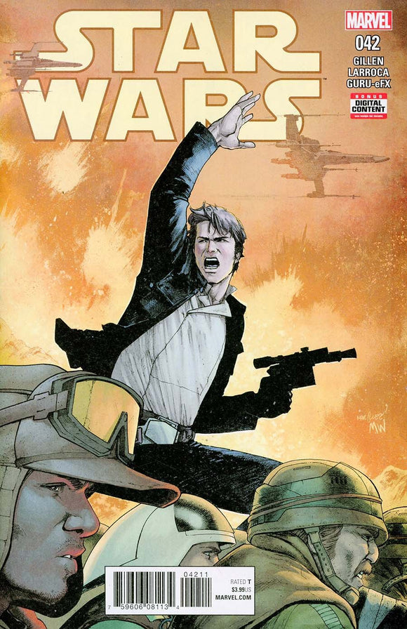 Star Wars #42A David Marquez Cover Vf+/nm+ Soldout Comic
