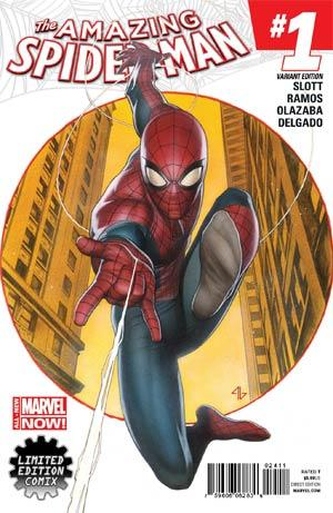 Amazing Spider-Man #1 D Adi Granov Limited Edition Variant Vf+/nm+ Comic