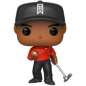 Pop! Golf - Tiger Woods (Red Shirt)