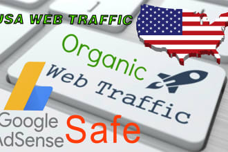 500+ Real USA Visitors to Your Website per Day
