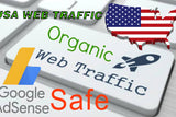 750+ Real USA Visitors to Your Website per Day