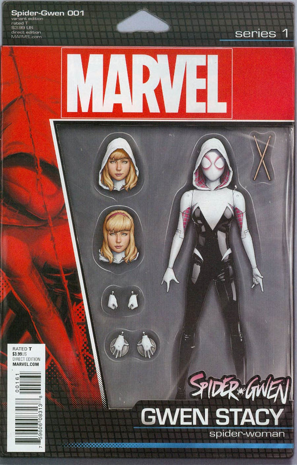 Spider-Gwen Vol2 #1 D John Tyler Christopher Action Variant NM