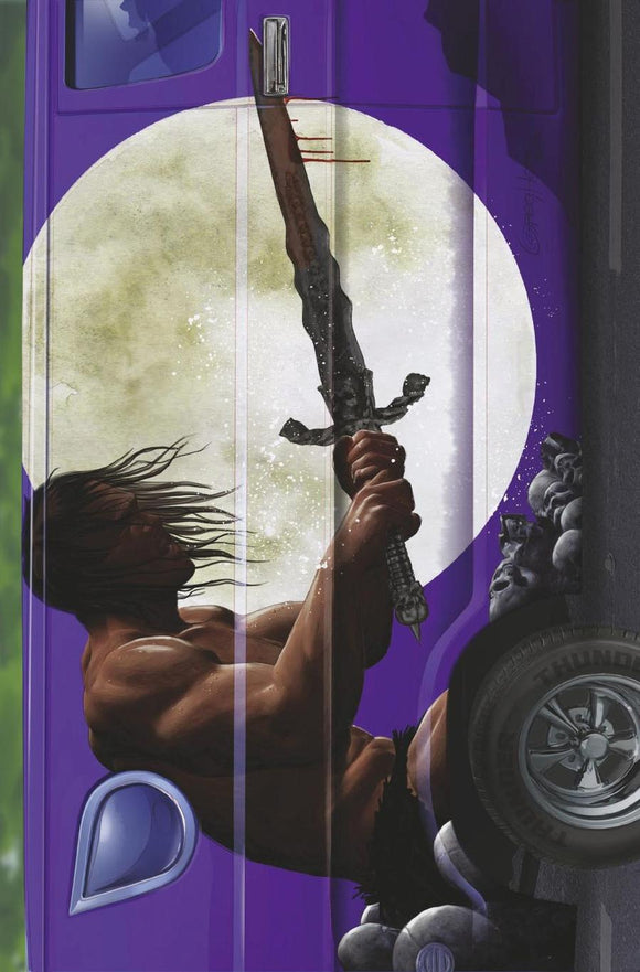 Conan The Barbarian Exodus #1 C Horn Van Virgin Variant NM