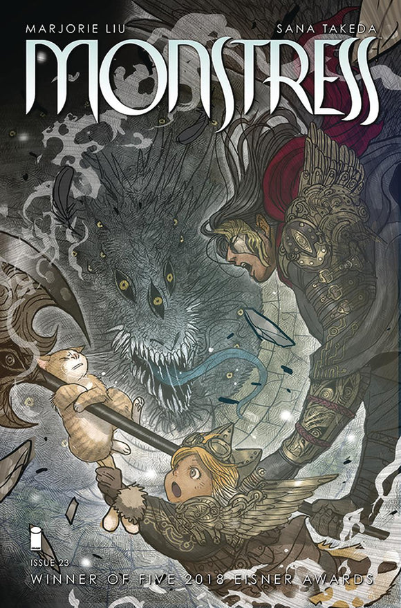 Monstress #23 Sana Takeda VF+/NM+ 1st print