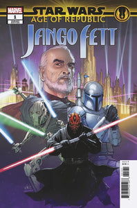 Age Of Republic Jango Fett #1 D Leinil Yu Villains Variant Vf+/nm+ Comic