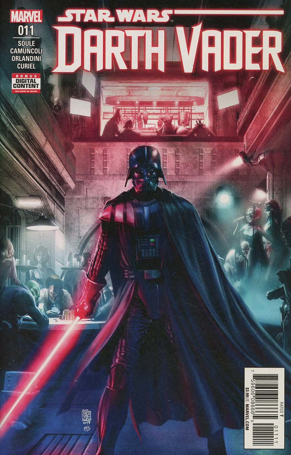 Star Wars Darth Vader #11 Soule Giuseppe Camuncoli Vf+/nm+ Comic