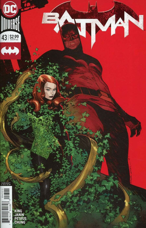Batman Vol 3 #43B Olivier Copiel Coipel Variant VF+/NM+