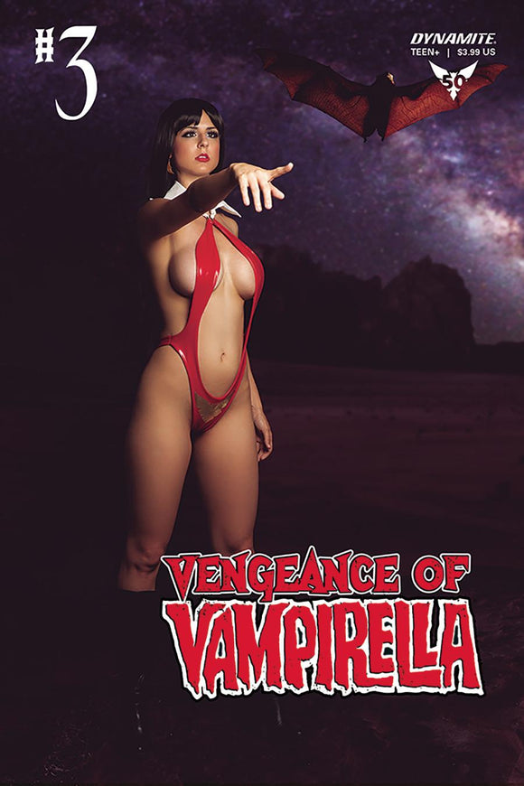 Vampirella #3 D Cosplay Photo Variant VF+/NM+ 1st print