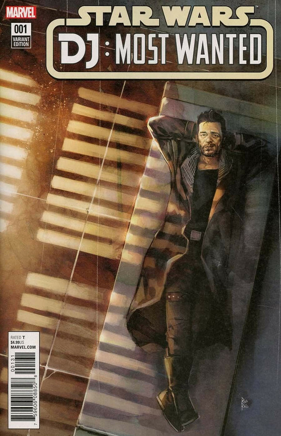STAR WARS DJ MOST WANTED #1 C Rod Reis VF+/NM+