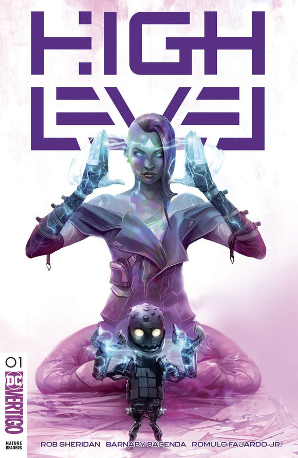 High Level #1 B Francesco Mattina Variant Vf+/nm+ Rare Comic