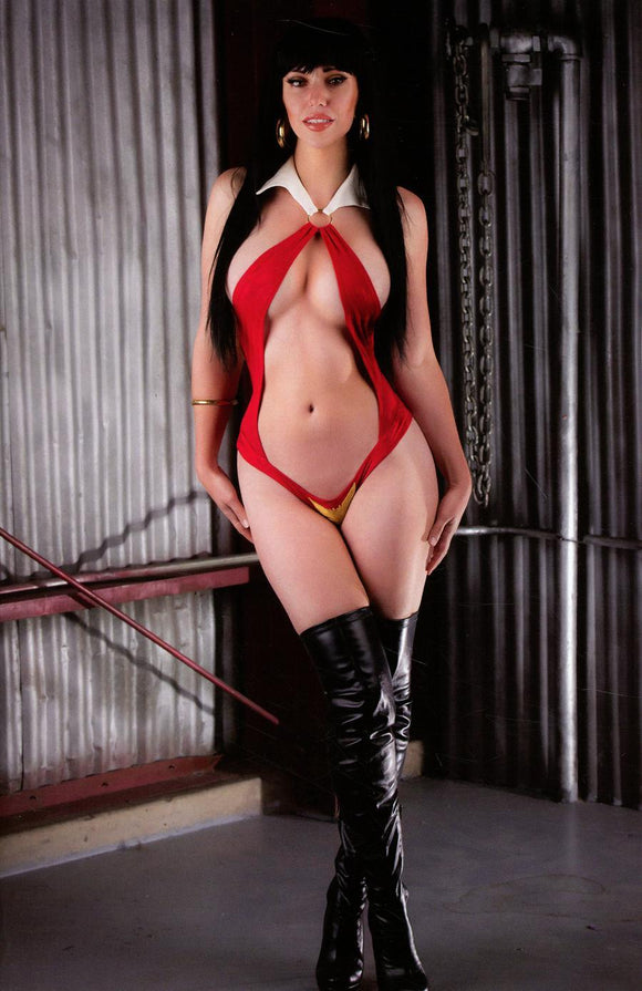 Vampirella Dejah Thoris #1 M Cosplay Photo Virgin Variant Vf+/nm Comic
