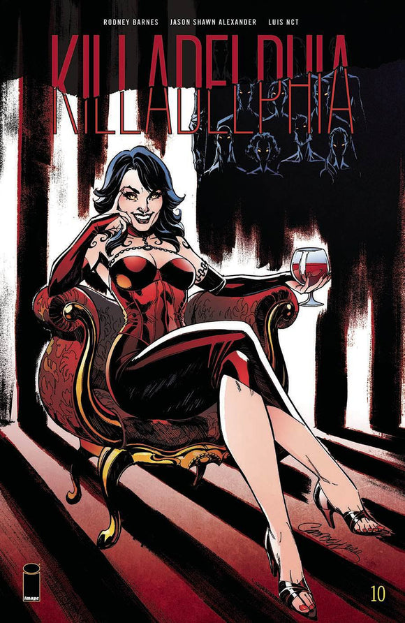 Killadelphia #10 B J. Scott Campbell Variant NM