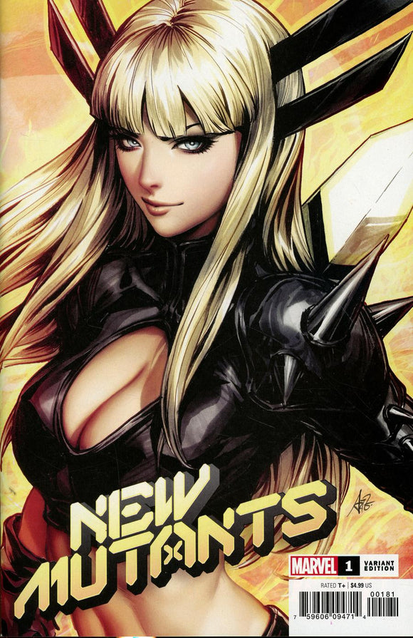 New Mutants #1 D Stanley Artgerm Lau variant VF+/NM+