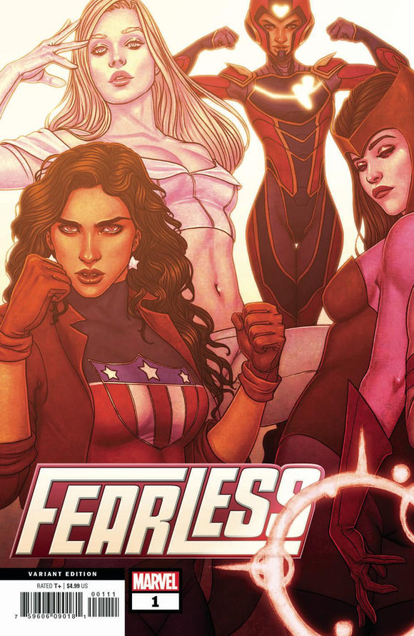 Fearless #1 B Jenny Frison variant VF+/NM+