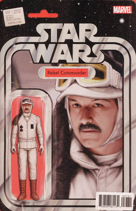 Star Wars #37 C Tyler Christopher Figure Variant Vf+/nm+ Rebel Comic
