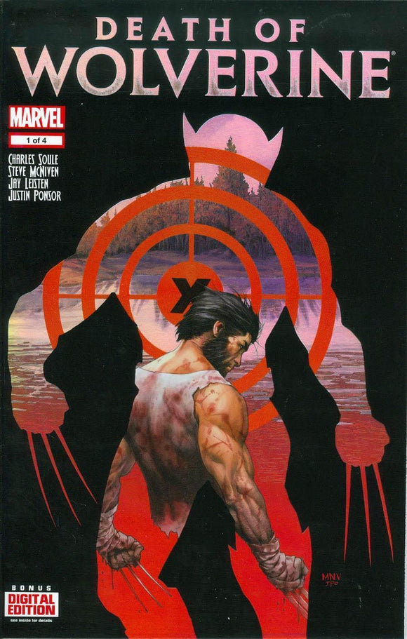 Death Of Wolverine #1 A 1St First Print Steve Mcniven Regular Cover Nm-/nm+ Comic