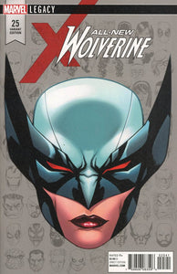 Marvel Legacy All New Wolverine #25 McKone Headshot 1:10 Variant NM