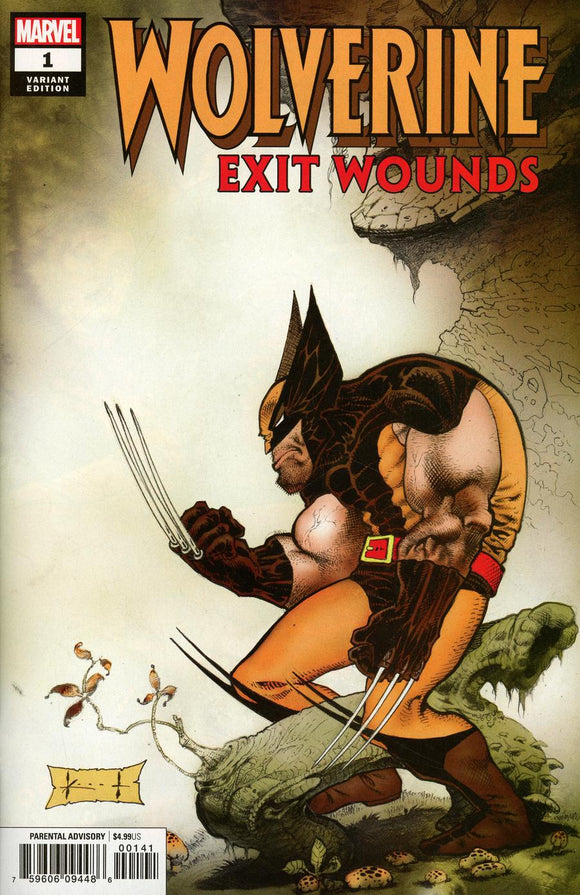 Wolverine Exit Wounds #1 B Sam Kieth variant VF+/NM+