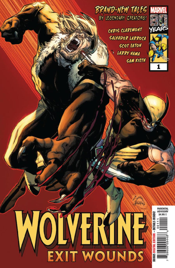 Wolverine Exit Wounds #1 A Ryan Stegman  VF+/NM+