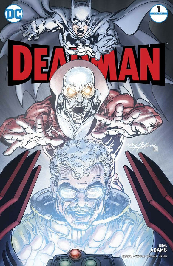 Deadman #1B Neal Adams Standard cover VF+/NM+