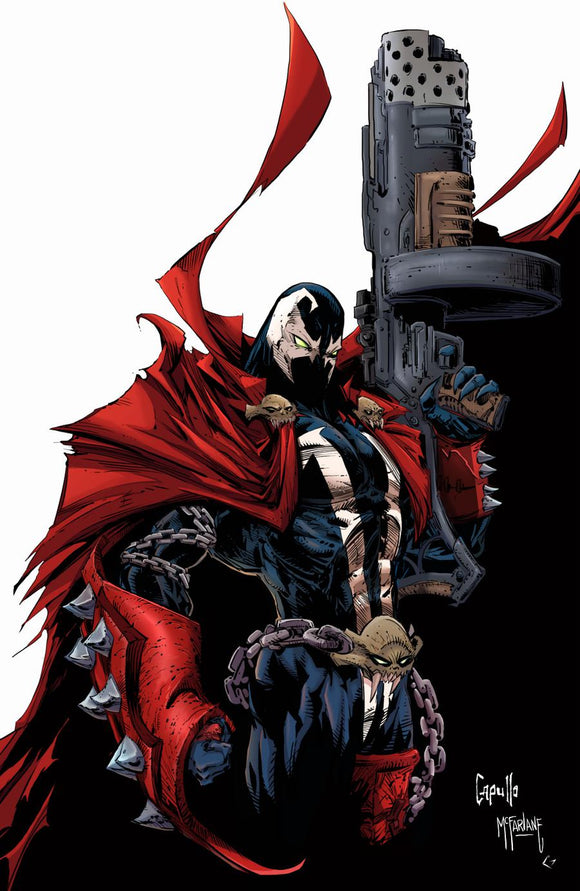Spawn #302 B Capullo & McFarlane Virgin Variant  VF+/NM+