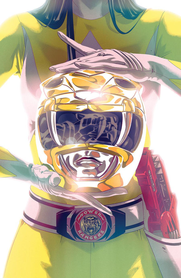 Mighty Morphin Power Rangers #44 Montes Foil variant NM