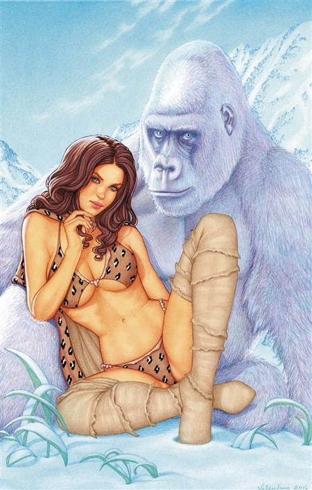 CAVEWOMAN Freakin Yetis #1 G Conny Valentina VIRGIN w COA LTD to 450 NM