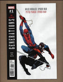 Generations Spider-Man & Peter Parker #1B Olivier Coipel VF+/NM+