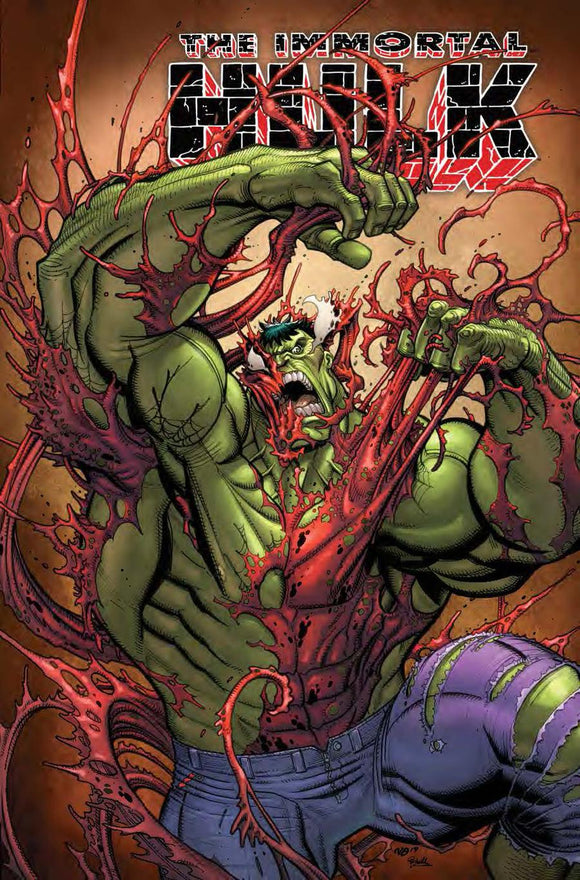 Immortal Hulk #20 B Nick Bradshaw CarnageIzed variant NM