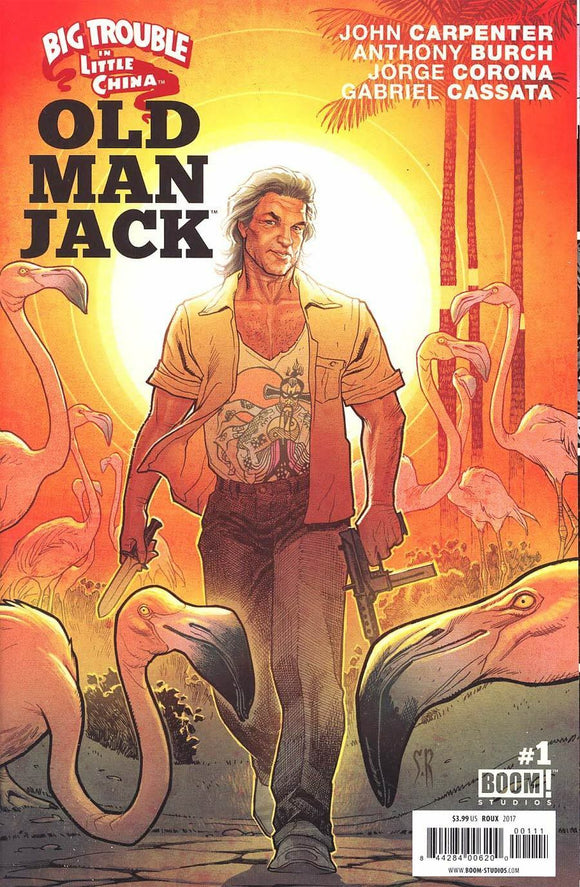 Big Trouble in Little China OLD MAN JACK #1A Roux 2017 BOOM VF+/NM+