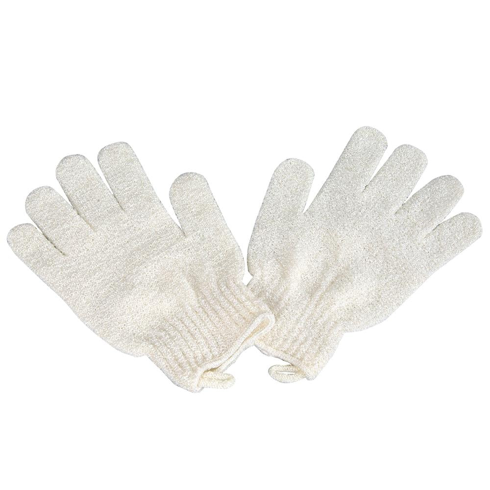 Exfoliating Gloves Flax