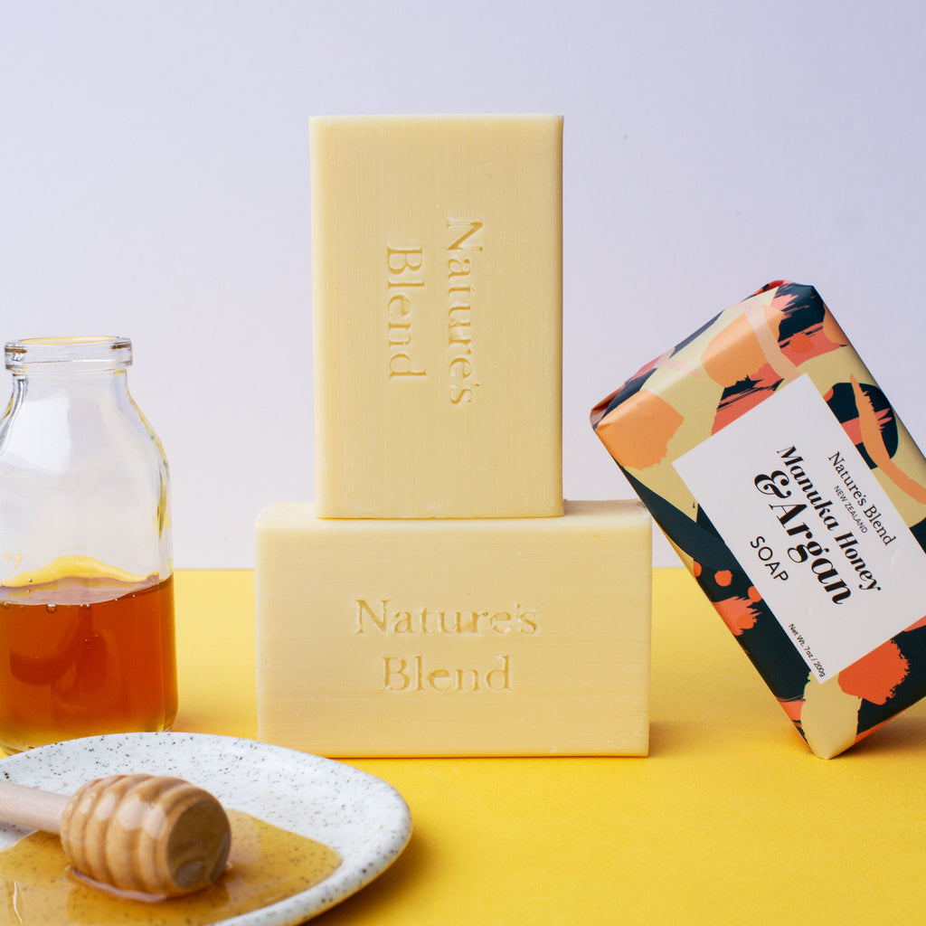 Nature's Blend Soap Bar Manuka Honey & Argan 200g
