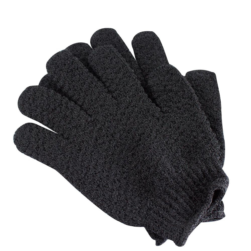 Charcoal Infused Exfoliating Gloves