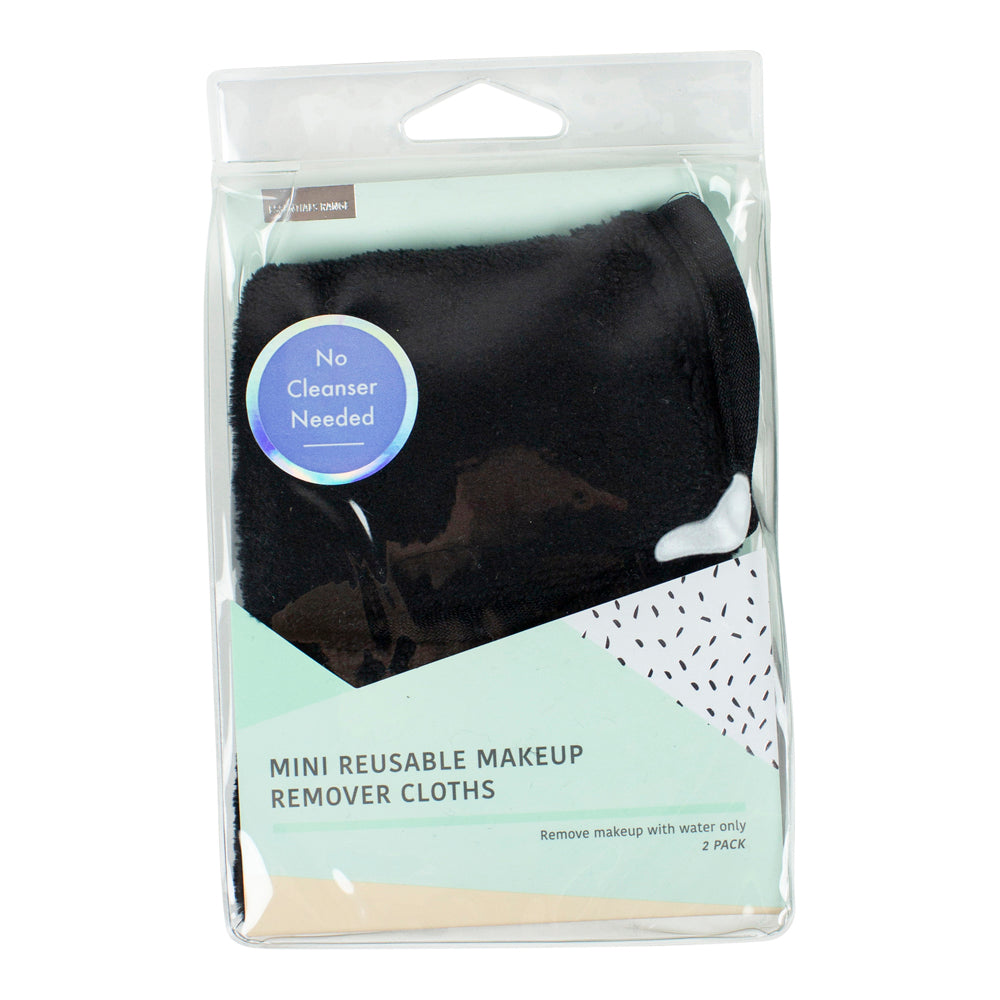 Mini Reuseable Makeup Remover Cloths (2)