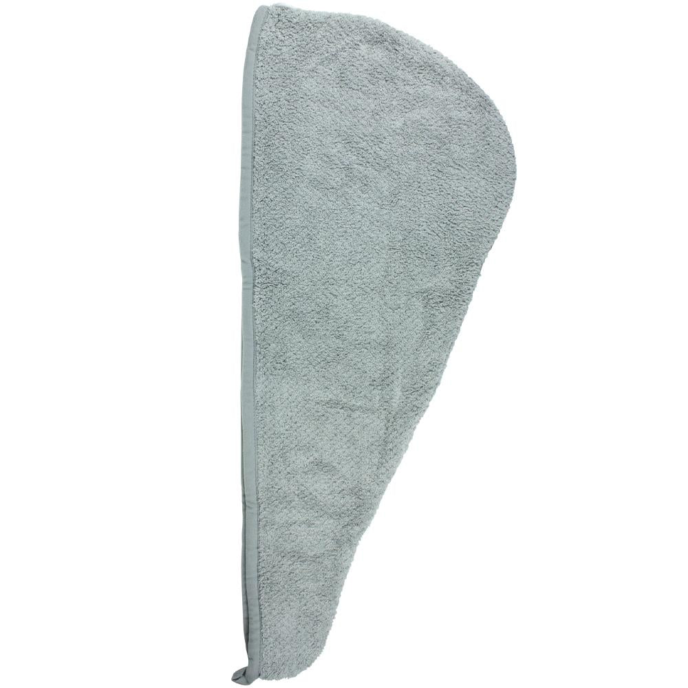 Quick Dry Hair Turban Grey