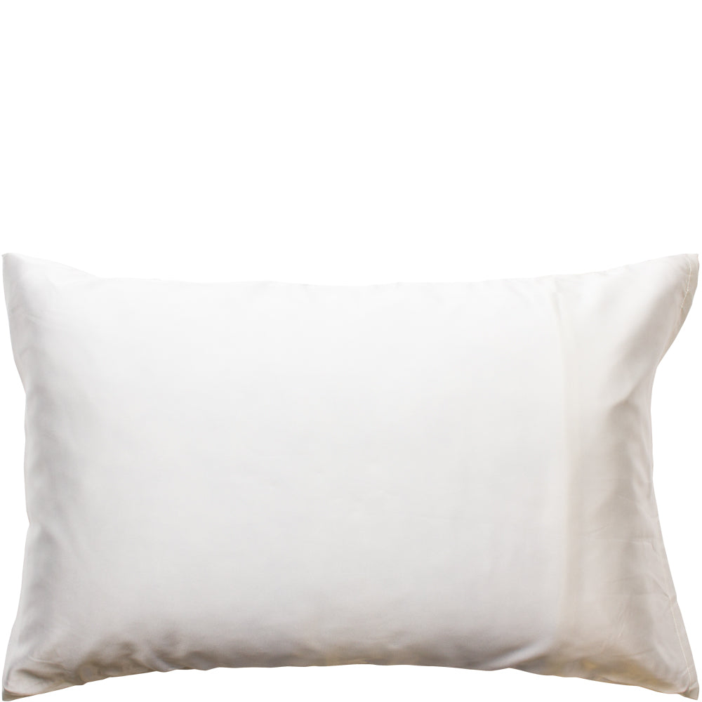 Satin Pillow Slip Ivory
