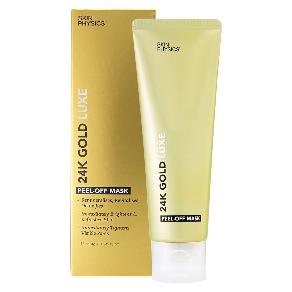24K Gold Luxe Peel Off Mask