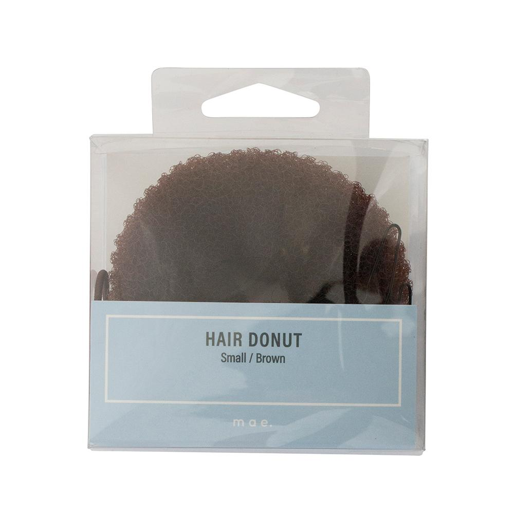 Hair Donut Small Brown