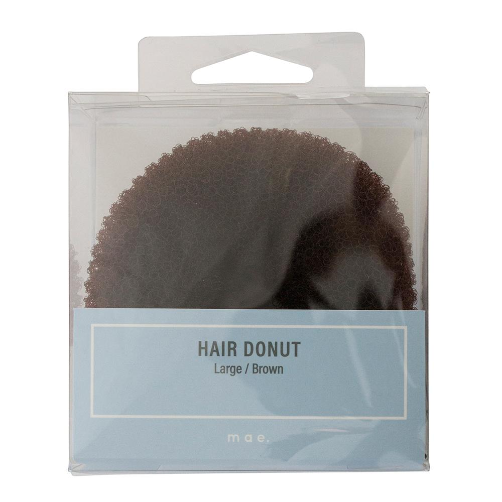 Hair Donut Large Brown