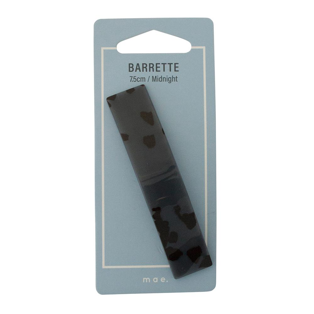 Barrette 7.5cm Midnight