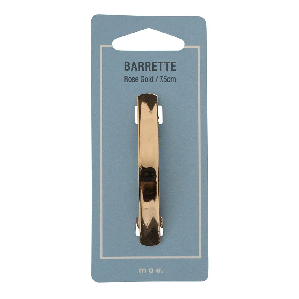 Barrette 7.5cm Rose Gold
