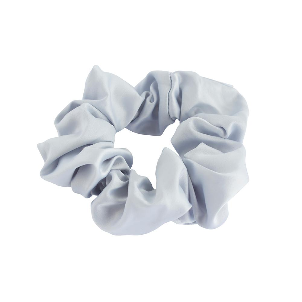 Elastics Scrunchie Satin Grey