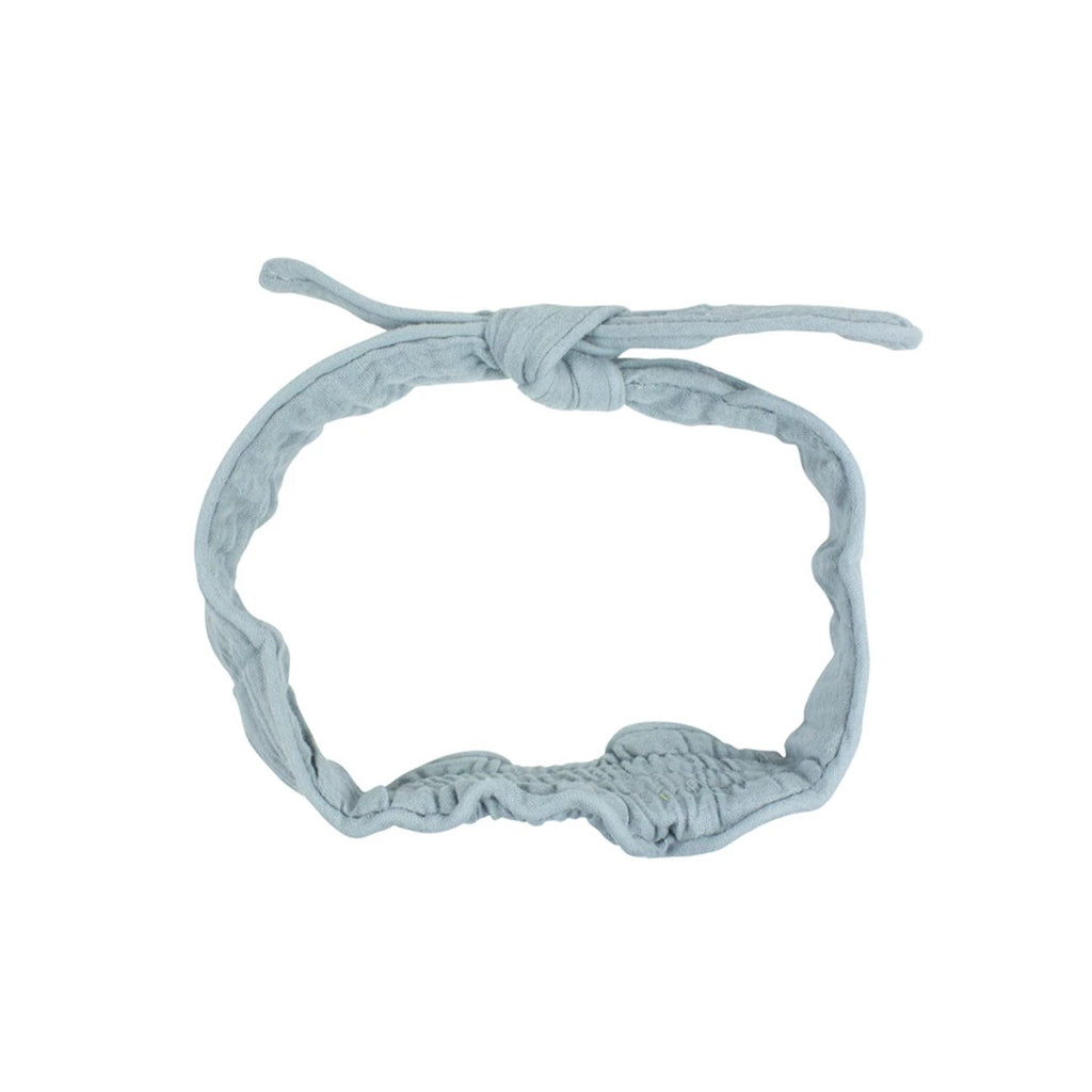 Headband Muslin Soft Grey